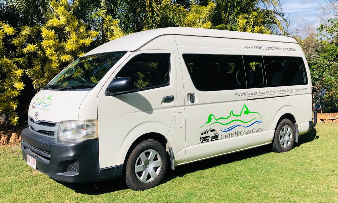 Coast to Hinterland Charters Minibus. Brisbane Airport Transfers